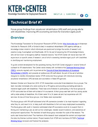 KTER Technical Brief #7