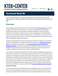 KTER Technical Brief #8
