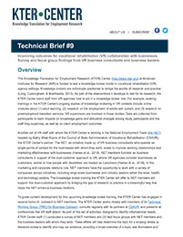 KTER Technical Brief #9